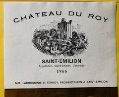 11573 -  Château Du Roy 1966 Saint-Emilion - Bordeaux