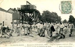 LANGRES = Manoeuvres De Forteresse 1906 = Réservoir D'eau ....  842 - Langres