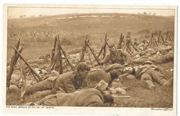 Cpa: GUERRE 1914 The Dawn Breaks On The Day Of Battle (L'aube Se Lève Le Jour De La Bataille Sur Les Soldats Canadiens) - War 1914-18