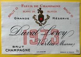 11578 -  Fleur De Champagne 1973 Duval-Leroy - Champagne
