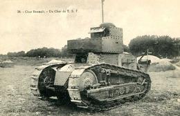 CHAR RENAULT  Un Char De T.S.F   ..  844 - Oorlog 1914-18