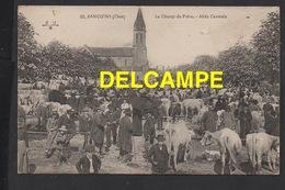 DD / 18 CHER / SANCOINS / CHAMP DE FOIRE, MARCHÉ AUX BESTIAUX , ALLÉE CANTRALE / ANIMÉE - Sancoins