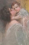 Cartolina - Postcard /   Viaggiata - Sent /  Amore Materno - Women