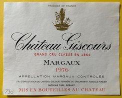 11583 - Château Giscours 1976 Margaux - Bordeaux