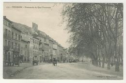 07 - Tournon -     Promenade Du Quai Farconnet - Tournon