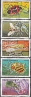 Türkiye 1982 Michel 2611 - 2615 Neuf ** Cote (2009) 5.00 Euro Insectes Parasites - 1921-... República