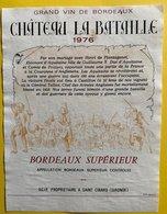 11590  - Château La Bataille 1976 - Bordeaux