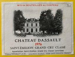 11591  - Château Dassault 1976 Saint-Emilion - Bordeaux