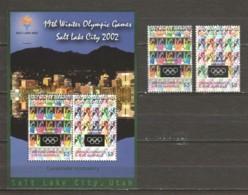 Grenada Grenadines 2002 Mi 3768-3769 + Block 546 MNG WINTER OLYMPICS SALT LAKE CITY - Winter 2002: Salt Lake City