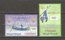 Mocambique  2002 Mi 2176-2177 MNG WINTER OLYMPICS SALT LAKE CITY - Winter 2002: Salt Lake City
