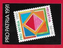 LIBRETTO SVIZZERA MNH - PRO PATRIA 1991 - 10 X 50 + 20 Cent. - Nuovi