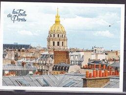 PARIS LES TOITS DE PARIS 6 CP EDITEES PAR LA POSTE FRANCAISE RARE NEUVE HORS NORME VOIR SCAN - France