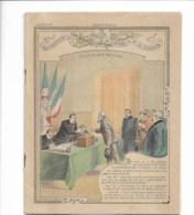 """Cahier Complet """"souveraineté Nationale, Déclaration Des Droits De L'homme Et Du Citoyen"""" Ill: Charles Clerice - Buvards, Protège-cahiers Illustrés"""