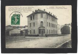 CPA Var 83 Hyères Villa Jeanne D'Arc Circulé - Hyeres