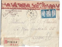 Hôtel Excelsior  ISNARD  Recommandé 1930 - Cartas