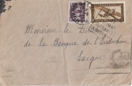 Lettre De DALAT à SAIGON  1942 - Indochine (1889-1945)