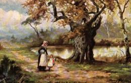 Royaume-Uni -Raphael Tuck - Oilette - Illustrateur Harry Payne - Hampshire Commons N°9278 - C 9084 - England
