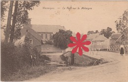 Wasseiges - Le Pont Sur La Méhaigne  1933 * GRIFFE * Wasseiges - Wasseiges