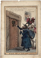 GREAT BRITAIN HOUSE OF COMMONS C1829 JEW TURK SATIRE PAUL PRY WILLIAM HEATH - Historical Documents