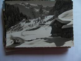 Zwitserland Schweiz Suisse OW Skigebiet Gerschnialp - Engelberg - OW Obwalden