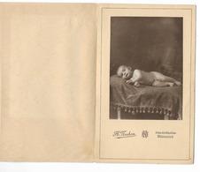 PHOTO  -portrait De Bébé Nu Allongé   - Ft 18 X 11 Cm (H. Mahon Marseille) - Andere