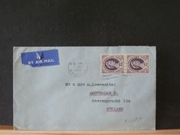 A10/279    LETTRE   POUR LA HOLLANDE 1956 - Rhodésie & Nyasaland (1954-1963)