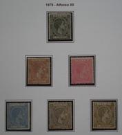 COLONIAS ESPAÑOLAS - CUBA - EDIFIL Nº 50/55 - NUEVO * CON FIJASELLOS Y SIN GOMA - LEER COMENTARIO - Cuba (1874-1898)