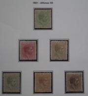 COLONIAS ESPAÑOLAS - CUBA - EDIFIL Nº 62/67 - NUEVO * CON FIJASELLOS Y SIN GOMA - LEER COMENTARIO - Cuba (1874-1898)