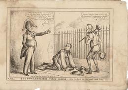 KING WILLIAM IV SIR ROBERT PEEL DUKE OF WELLINGTON 1830 WILLIAM HEATH. - Historical Documents