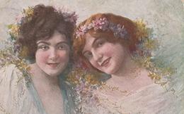 Cartolina - Postcard /  Viaggiate - Sent /   Donnine - Grossi - Women
