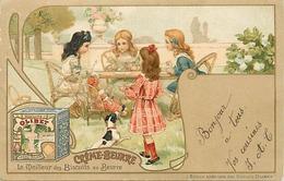 Themes Div-ref CC668- Illustrateurs -illustrateur Enfants -publicité Biscuits Olibet - Biscuit Creme Beurre - - Unclassified