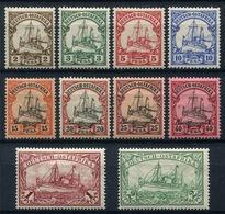 44376) DT.KOLONIEN Ostafrika # 11-20 Gefalzt Aus 1901, 89.- € - Kolonie: Duits Oost-Afrika