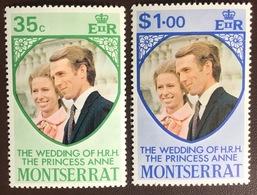 Montserrat 1973 Royal Wedding MNH - Montserrat