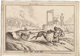 FRANCE REVOLUTION CHARLES X NAPOLEON MAD DOG LOUIS XVI WILLIAM HEATH 1830 - Historical Documents