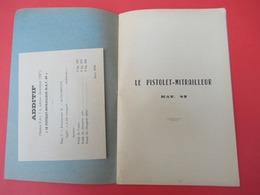 Livret/Ecole D'application De L'Infanterie/Le Pistolet-Mitrailleur  MAT 49/ 1957   VPN200 - Books