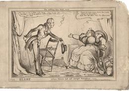 KING GEORGE IV SIR WILLIAM KNIGHTON LADY CONYNGHAM WILLIAM HEATH 1830 - Historical Documents