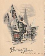 Heureuse Annee  Joyeux Noel Carte - Other Collections