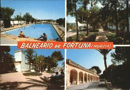 71445083 Fortuna Murcia Balneario Piscina Termal Y Jardines Thermalbad Murcia - Espagne
