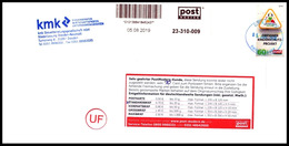 Bund / Post Modern [01129 Dresden]: 'Nachgebühr - Portoerhöhung, 2019' / 'Postage Due' - Privados & Locales
