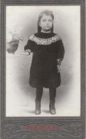 Photo. C.D.V. : Enfant : Fillette En Pied Posant - Photographie - MARIANI - Valence - Drome - Marseille - - Photographs