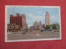 Broadway From Delaware River Bridge Camden  New Jersey >   .    Ref    3592 - Camden