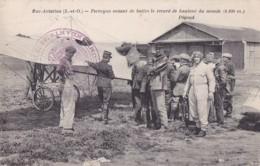 78 Buc Aviation Perreyon Venant De Battre Le Record Du Monde - Cachet Rouge - Buc