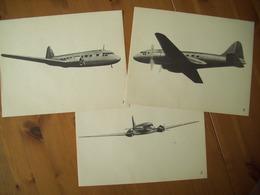 AVIATION / LOT FICHES DIDACTIQUES ARMEE DE L'AIR / IDENTIFICATION AERONEF / ORIGINALES - Aviation