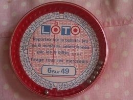 """""""""""  PETIT  JEU  DE  LOTO  ANCIEN   Avec 6 Boules - Oud Speelgoed"""