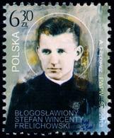 Poland 2019 Fi 4995 Mi 5145 Blessed Stefan Wincenty Frelichowski - 1944-.... República