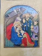 Image Pieuse / Heures De Rome XV Siècle / édition Abbaye D Encalat / Draeger Impression - Santini