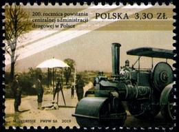 Poland 2019 Fi 4998 Mi 5148 200th Anniversary Of The Establishment Of The Central Road Administration In Poland - 1944-.... República