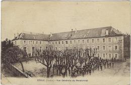 25  Ecole Vue Generale Du Pensionnat - Autres Communes
