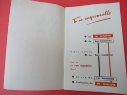 Livret/Militaria / Tu Es Responsable De Ton Matériel/ / Vers 1958  VPN198 - Livres