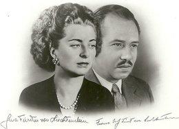 2019 - LIECHTENSTEIN - CPSM PF NB 1939 - VADUZ  - Prince Joseph Et Princesse Georgina - Liechtenstein
